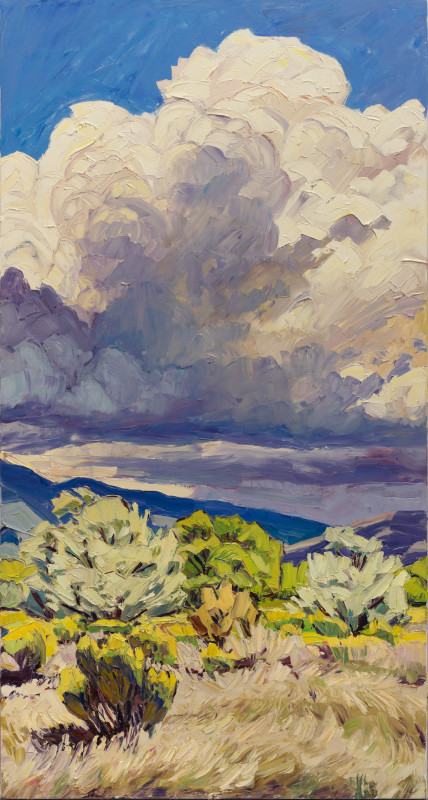 Jivan Lee, Fall Storm Above Taos