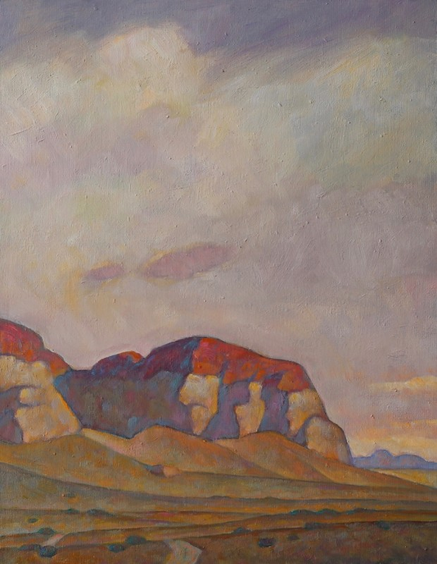 Howard Post, Red Topped Buttes