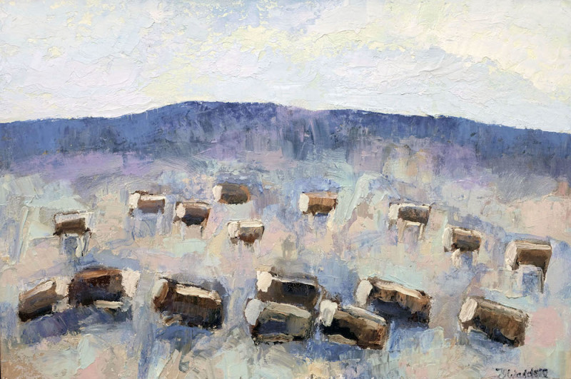 Theodore Waddell, Dell Herefords