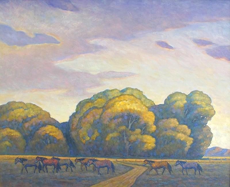 Howard Post, Evening Crossing