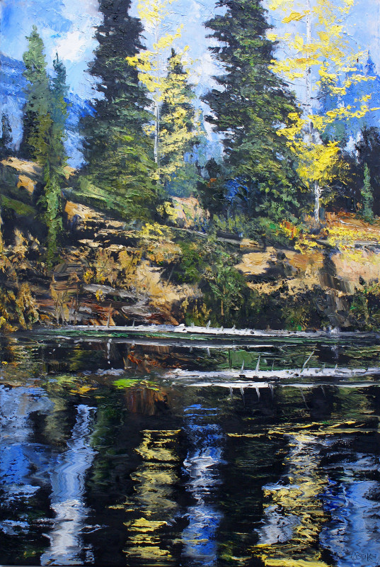 James Pringle Cook, Teton Pool #1