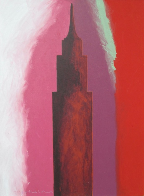 Fritz Scholder - NYC 2.22.82, 1982