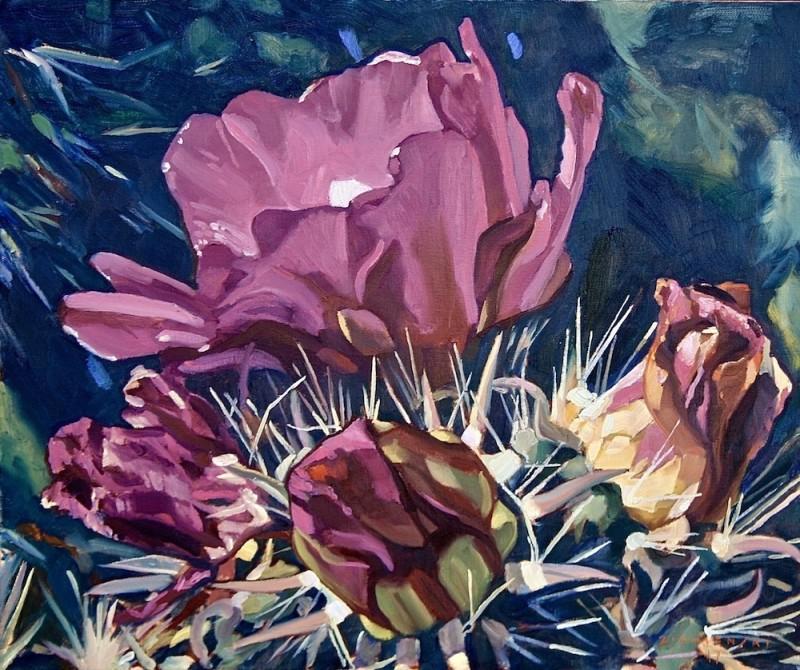 Dennis Ziemienski, Cholla Blossoms