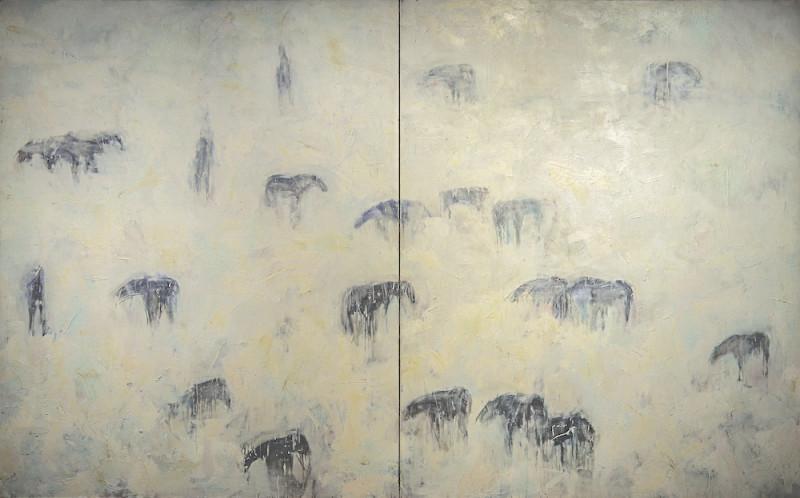 Theodore Waddell, Bannack Horses