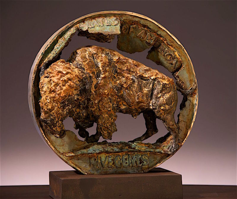 Greg Woodard, Buffalo Nickel (State II)