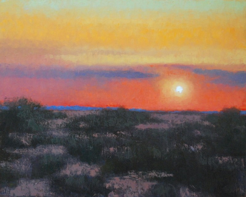 Gary Ernest Smith, Desert Evening