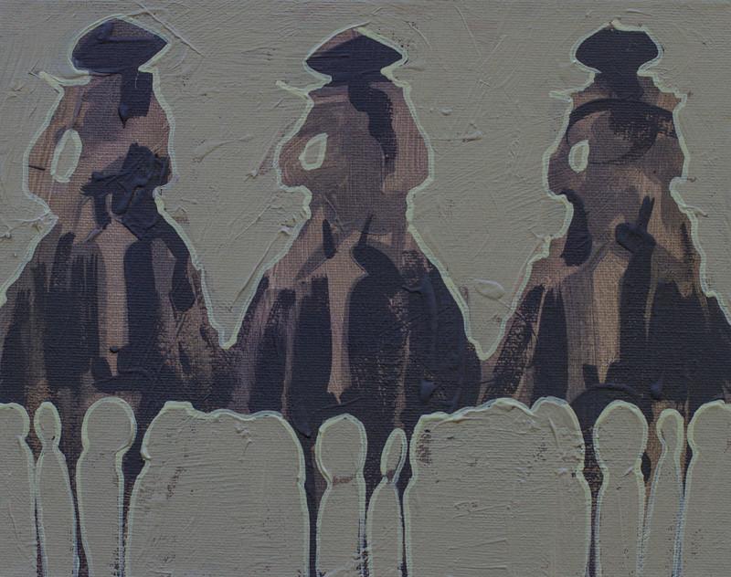 Duke Beardsley, Vaqueros Pequeños - Moss on Moss