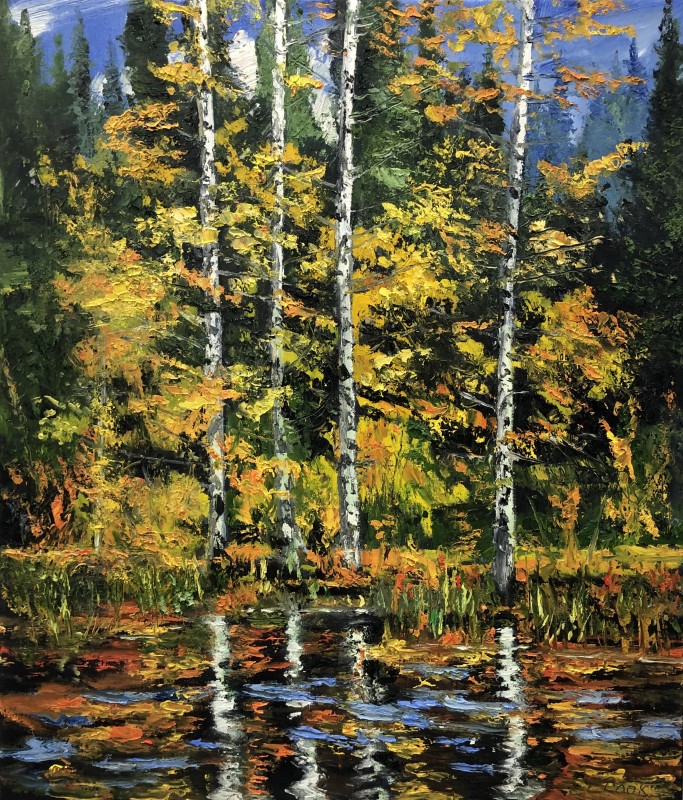 James Pringle Cook, Four Aspen