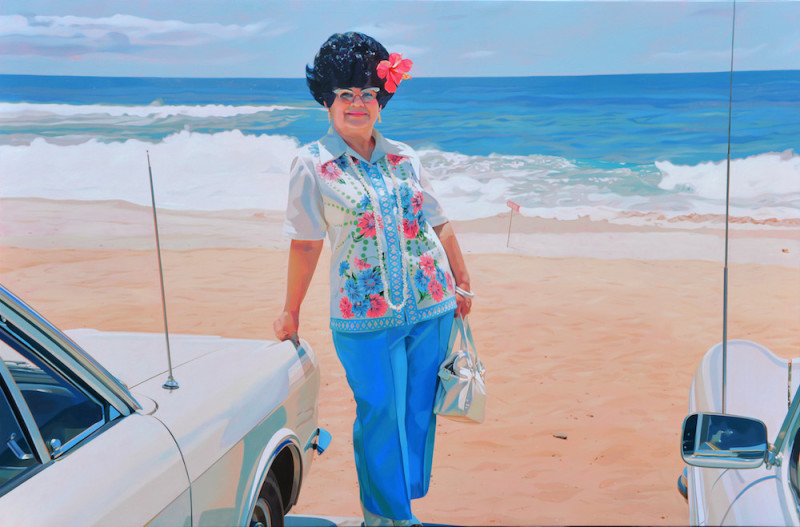 Robert Townsend, Blue Hawaii, 2019