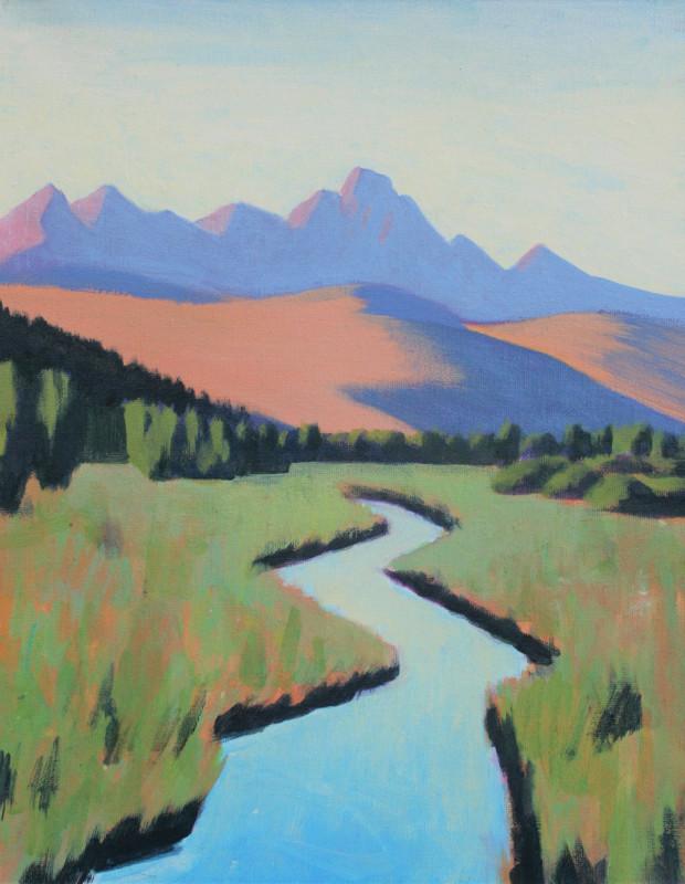 Travis Walker, Poodle Ranch (Study)