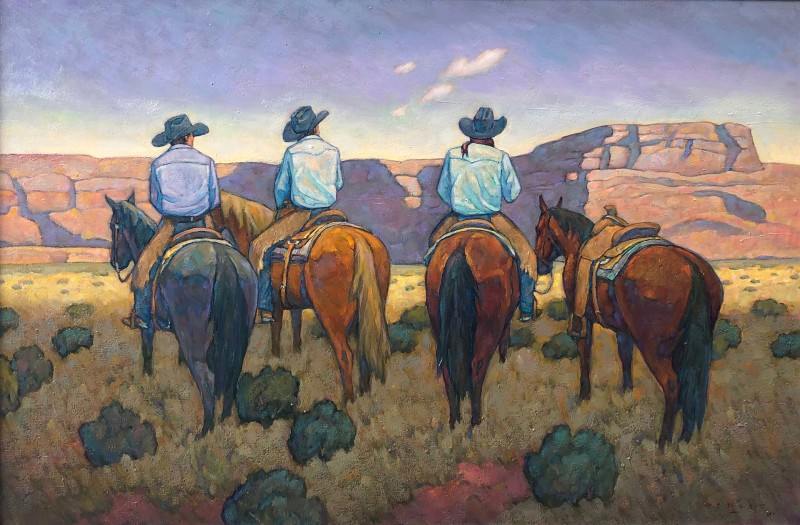 Howard Post, Rendezvous in the Canyon