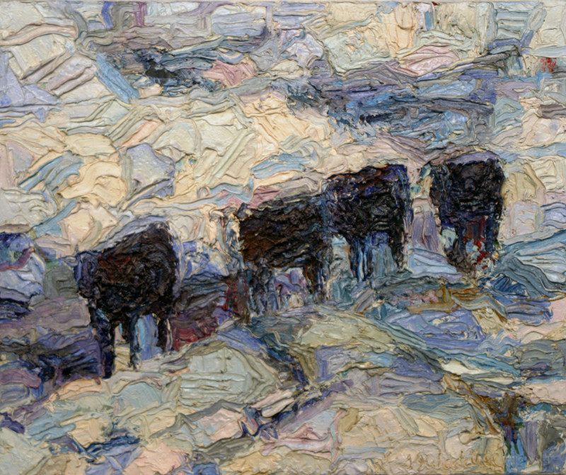 Theodore Waddell, Untitled Angus, 1986