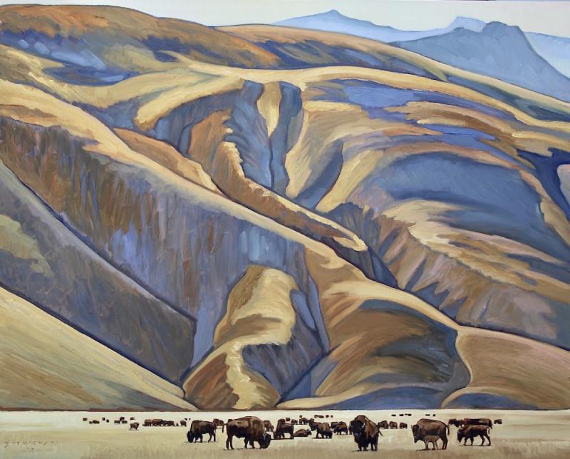 Dennis Ziemienski, The End of the Prairie