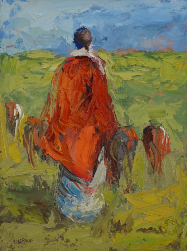 Mary Roberson, Fertile Kenya
