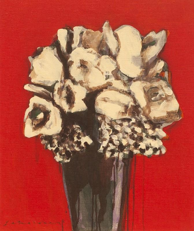 Fritz Scholder, Special Flowers #1