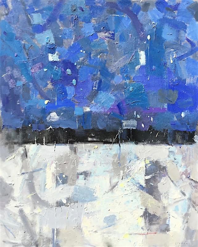 David Michael Slonim - More Than Blue, 2016