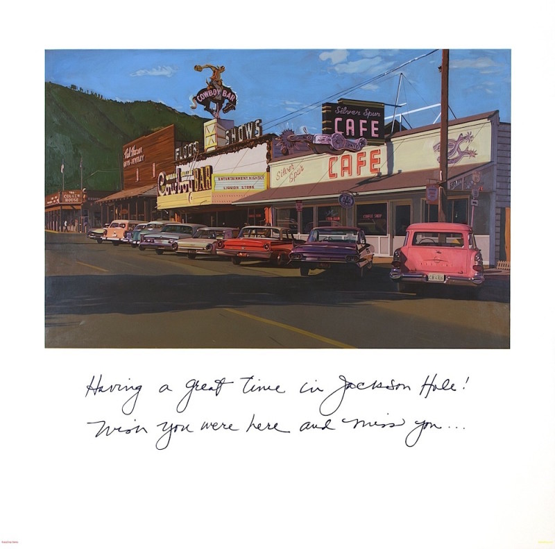 Limited Editions by Robert Townsend, Greetings From Jackson Hole