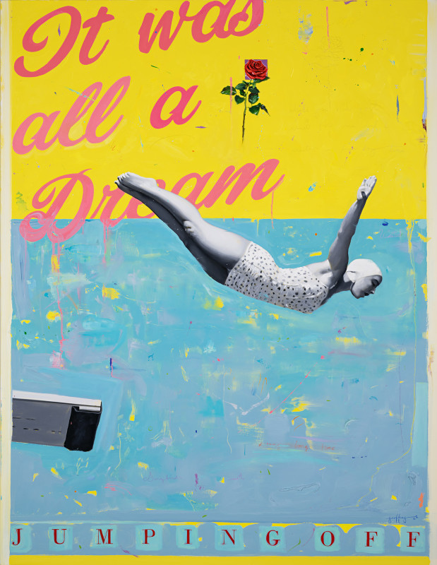 Geoffrey Gersten, Jumping Off - A Dream