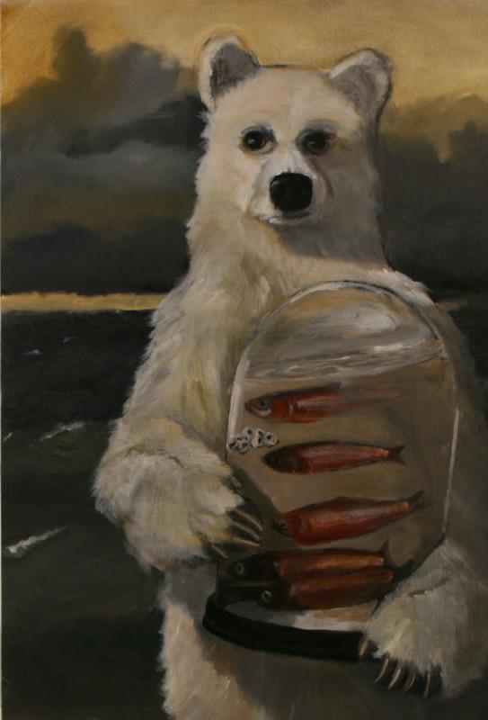 Robert McCauley, Sea Bear with Red Herring
