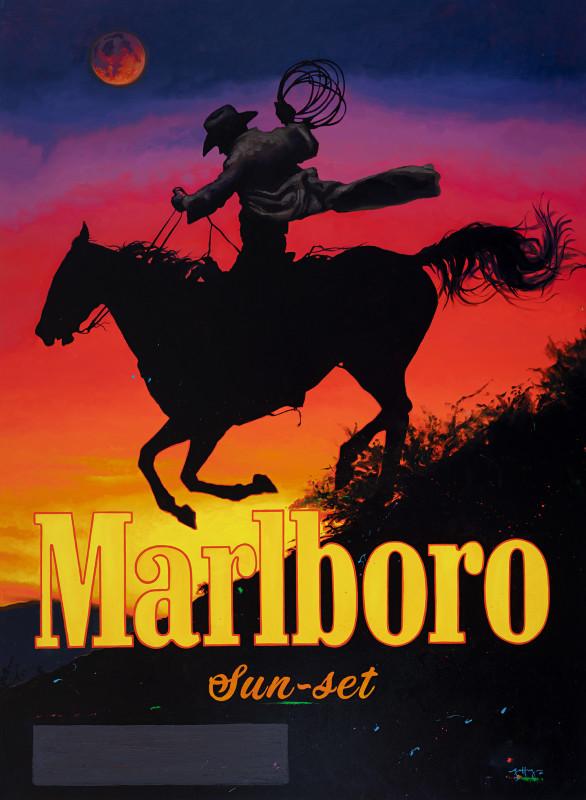 Geoffrey Gersten, Marlboro Sunset (Like an Ocean Between the Waves)