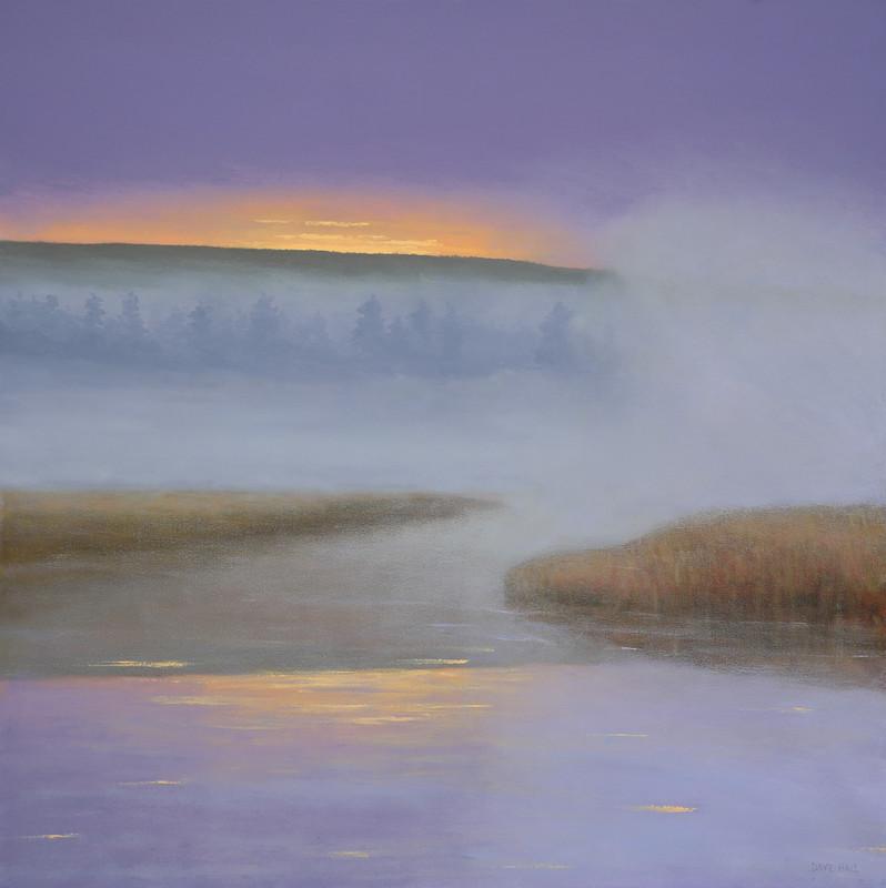 Dave Hall - Dawn in Lavender