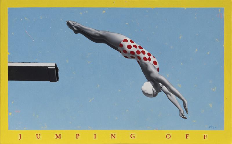 Geoffrey Gersten, Jumping Off-Pool Party