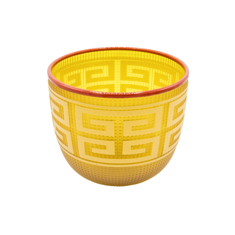 Preston Singletary - Tlingit Berry Basket: #B20-16: Amber/Orange