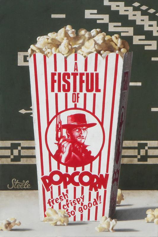 Ben Steele, A Fistful of Popcorn