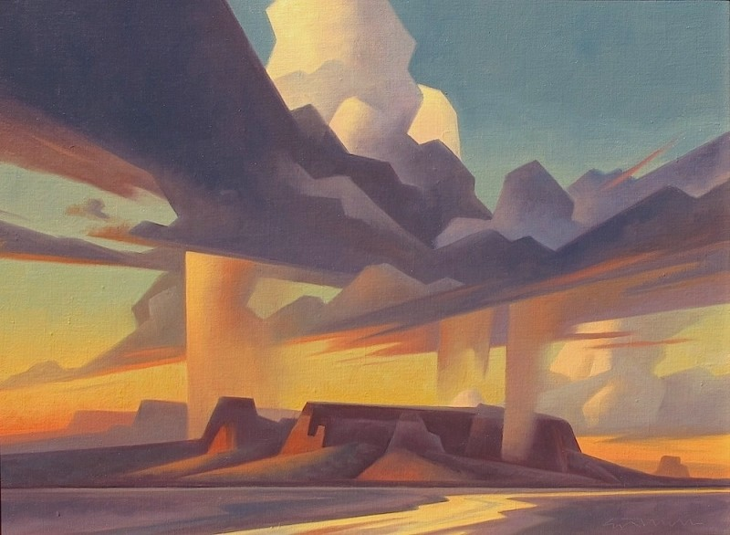 Ed Mell, Isolated Rain