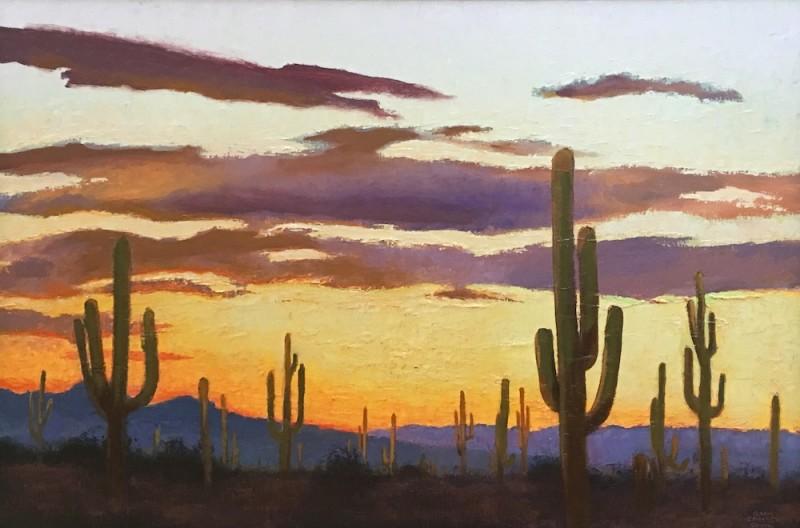 Gary Ernest Smith, Arizona Sunset