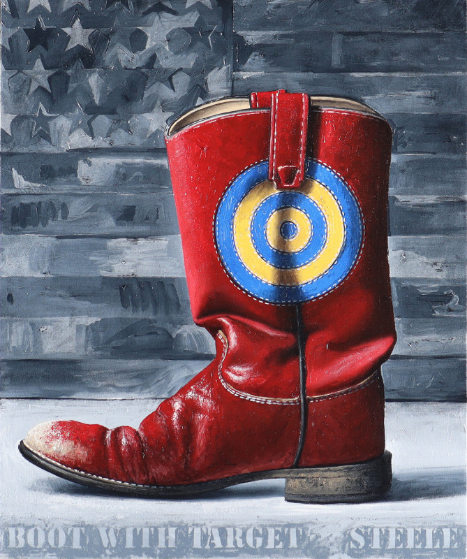 Ben Steele, Boot with Target