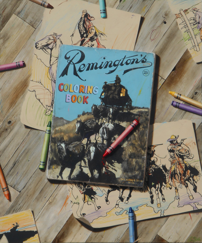 Ben Steele, Remington's Coloring Book