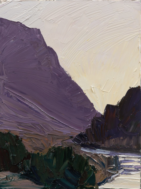 Jivan Lee, Sunset Ridgeline #3