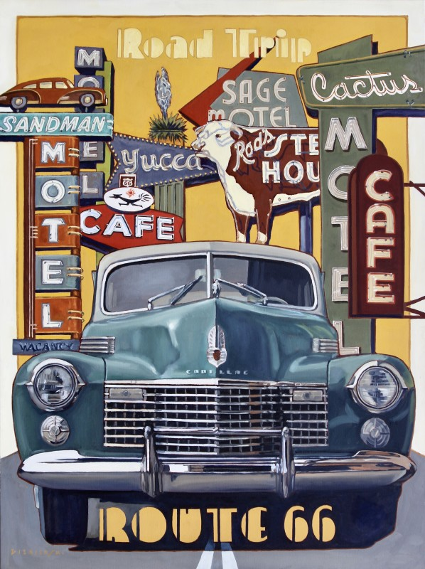 Dennis Ziemienski, Cadillac Road Trip