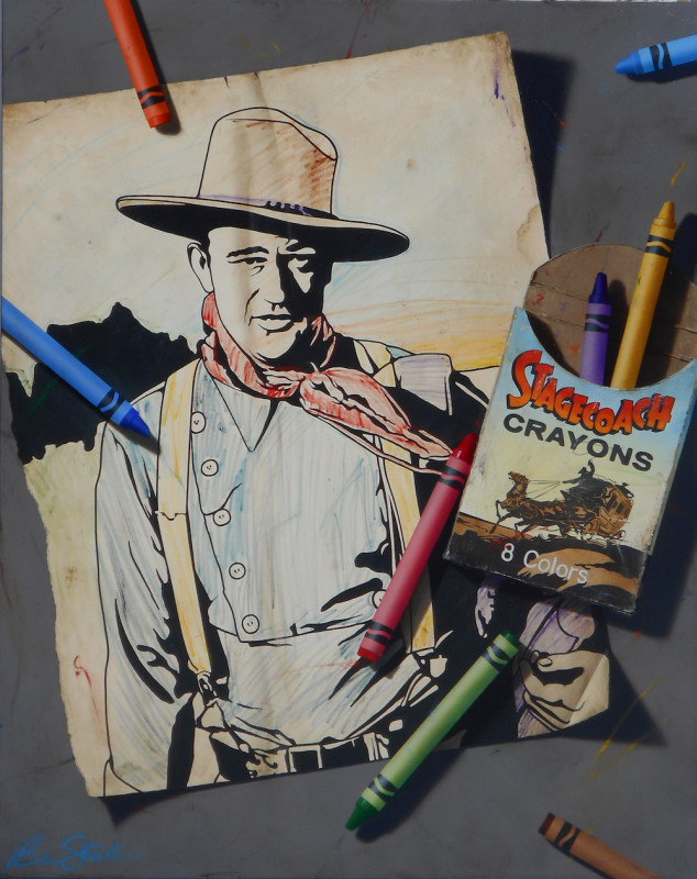Ben Steele, Stagecoach Crayons