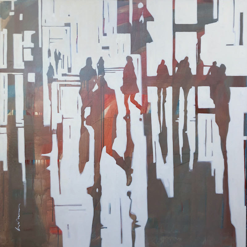 Erica Vhay, Rain on the Square