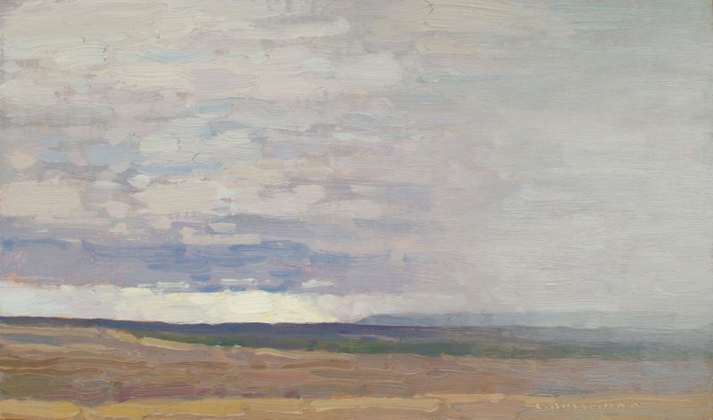 David Grossmann, View to the South with Coming Rain
