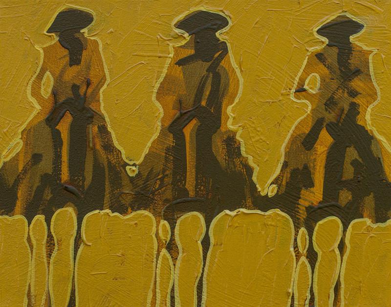 Duke Beardsley, Vaqueros Pequeños - Gold on Gold