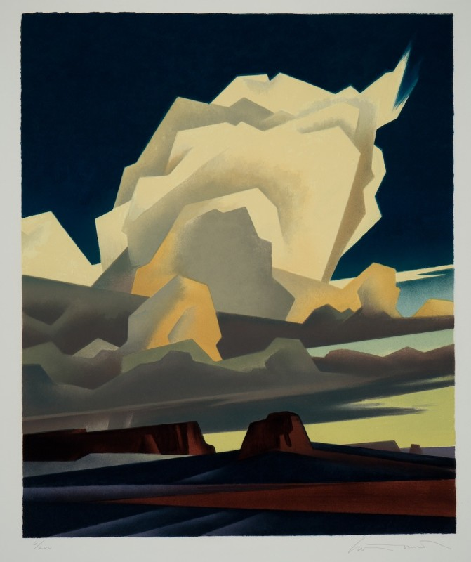 Ed Mell, November Cloud , 2015