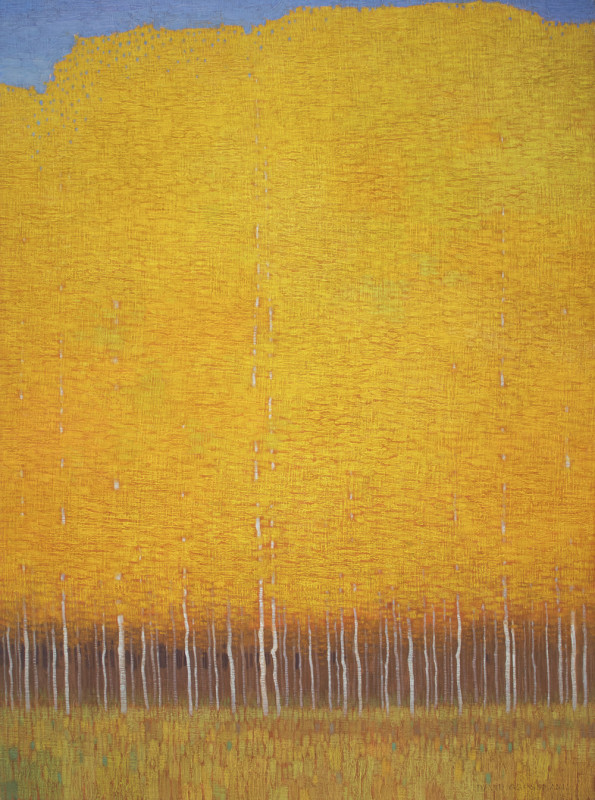 David Grossmann, Golden Autumn Wall