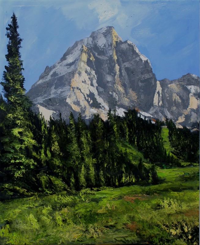 James Pringle Cook, Teton Meadow #1
