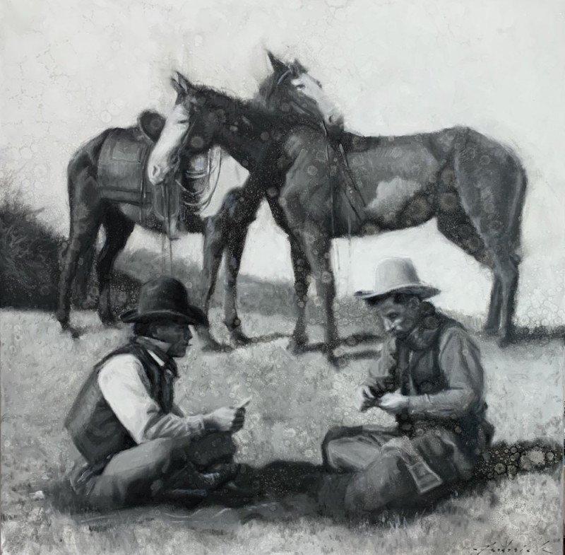 David Frederick Riley, Cowboy Cards