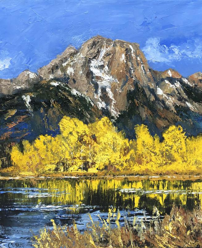 James Pringle Cook, Mt. Moran Study #1