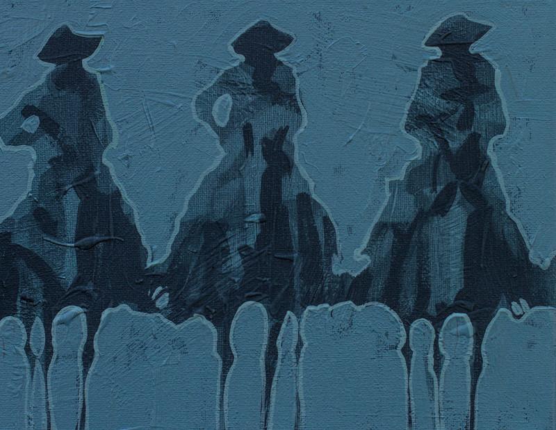 Duke Beardsley, Vaqueros Pequeños - Slate on Slate