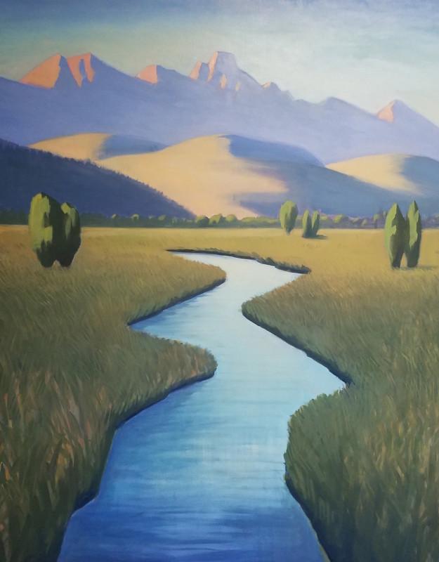 Travis Walker, The Tetons in Spring