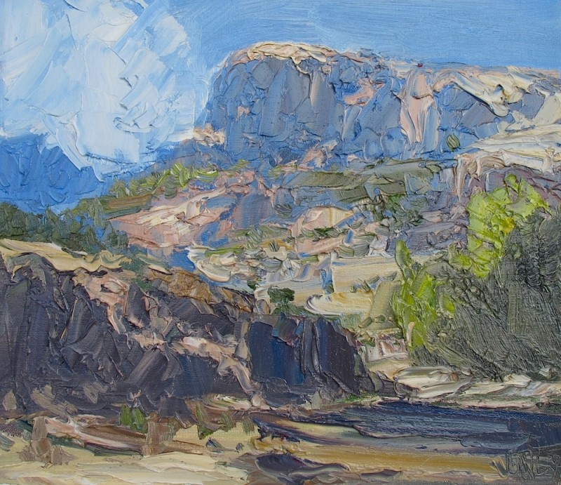 James Pringle Cook, Araviapa Canyon Study