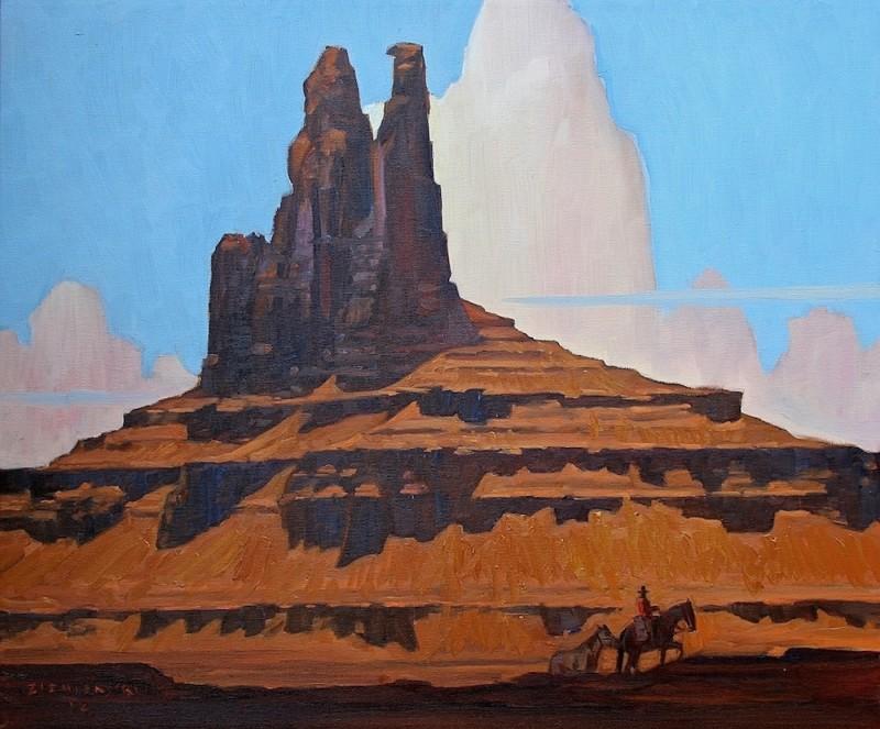 Dennis Ziemienski, Sandstone Spires