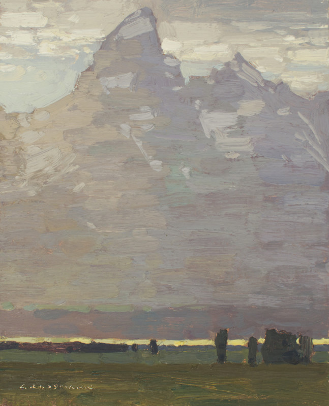 David Grossmann, Teton and Glowing Valley