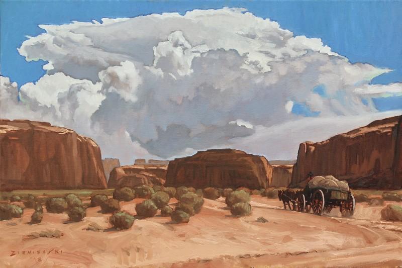 Dennis Ziemienski, Summer Thunderhead Monument Valley