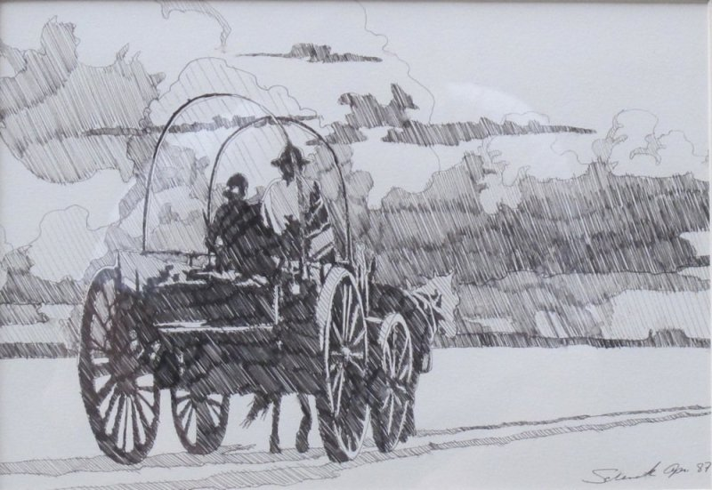 Billy Schenck, Wagon Study
